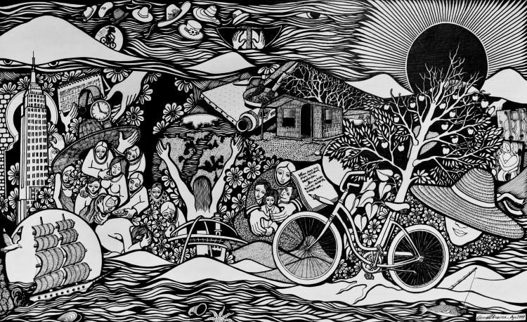 """À Memória De Uma Grande Mãe Luso-Moçambicana (I Parte) - """"Da Planície e da Savana"""" de Pierre Vilbró"""