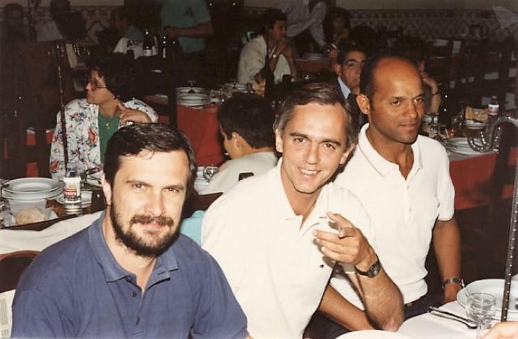 ja16-Joaquim Azevedo, Alberto Jorge Santos e Armindo Costa.