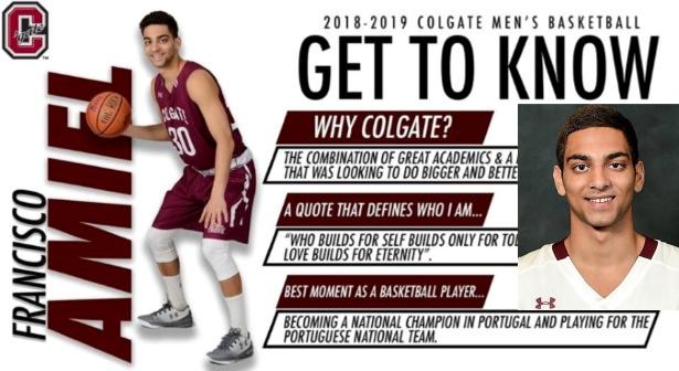 Entrevista a Francisco Amiel - Um jovem que fez os seus sonhos acontecer: Jogar no basquetebol americano da NCAA!