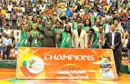 Ferroviário de Maputo Campeão da Taça Africana dos Clubes Campeões em basquetebol sénior feminino