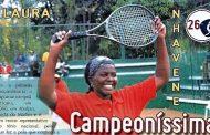 Estrelas de Moçambique (26) – Laura Nhavene – Ténis