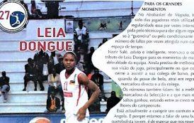 Estrelas de Moçambique (27) – Leia Dongue – Basquetebol