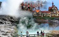 Relatos de uma viagem por terras do Oriente (6) – Chegada a Tauranga e visita à cidade geotérmica de Rotorua