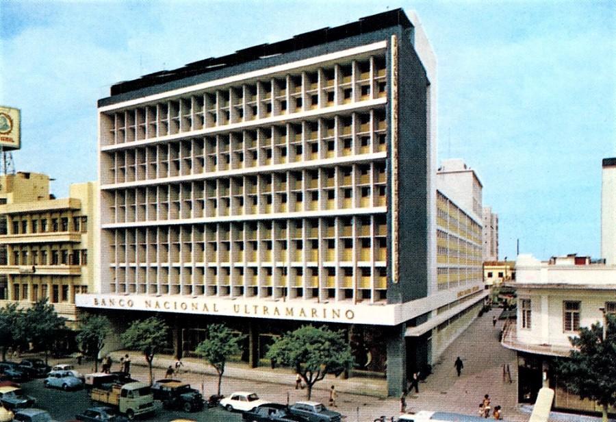 25 de Julho de 1964... Inauguração da Delegação do Banco Nacional Ultramarino em Moçambique