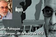 26 de Março de 1953... Luís Carlos Patraquim -