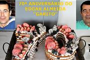 Almoço comemorativo do 70º aniversário do Edgar Almeida