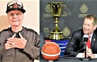 Nick Nurse, treinador vencedor da NBA, concede anel de campeão a Dave Adkins, treinador em Moçambique na década de 70