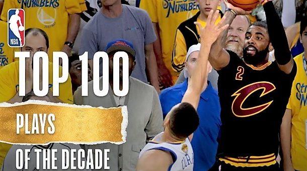 As 100 melhores jogadas da década na NBA