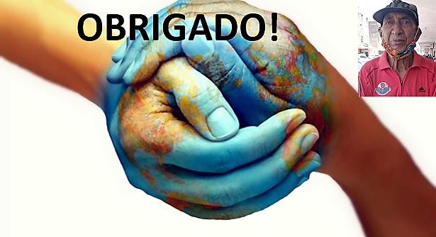 Agradecimento de Miguel dos Santos à campanha de solidariedade para com ele