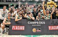 BASQUETEBOL: No ano do leão o Sporting é campeão e faz a dobradinha!