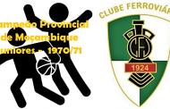 BASQUETEBOL: Recordando a época de 1970/71 em Juniores