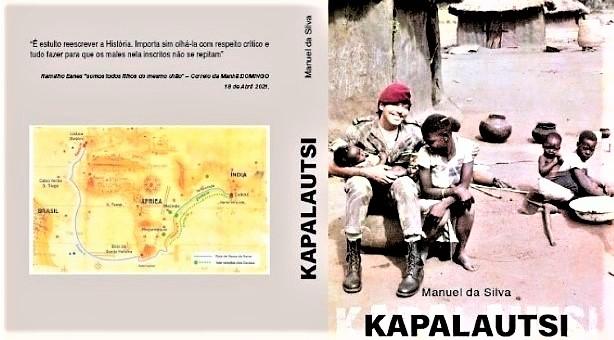 Livro KAPALAUTSI de Manuel Silva, memórias de guerra em Moçambique